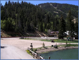 Relaxing vacation rental in new mexico for Red river new mexico fishing